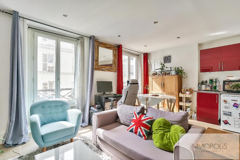 Vente Appartement de 2 pièces 35 m² - PARIS 75018   IMMOPOLIS RAMEY - AR photo8