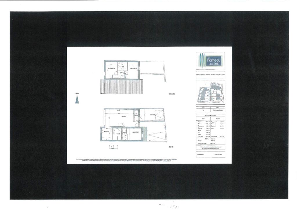 Alquiler  casa Sainte luce sur loire 990€ CC - Fotografía 3