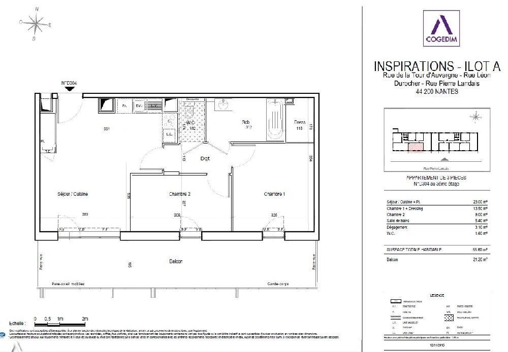 Venta  apartamento Nantes 329700€ - Fotografía 10