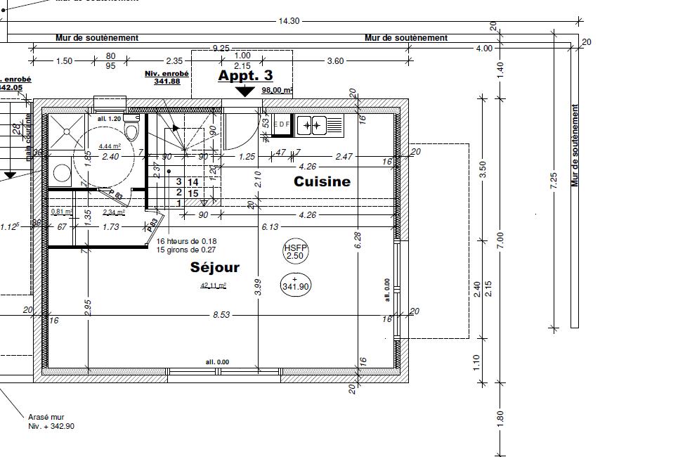Vente maison / villa Aix les bains 445000€ - Photo 3