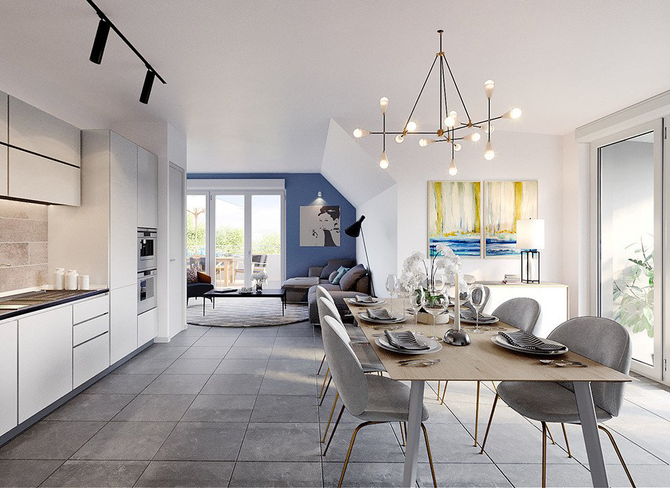 Sale apartment Cognin 155612€ - Picture 4
