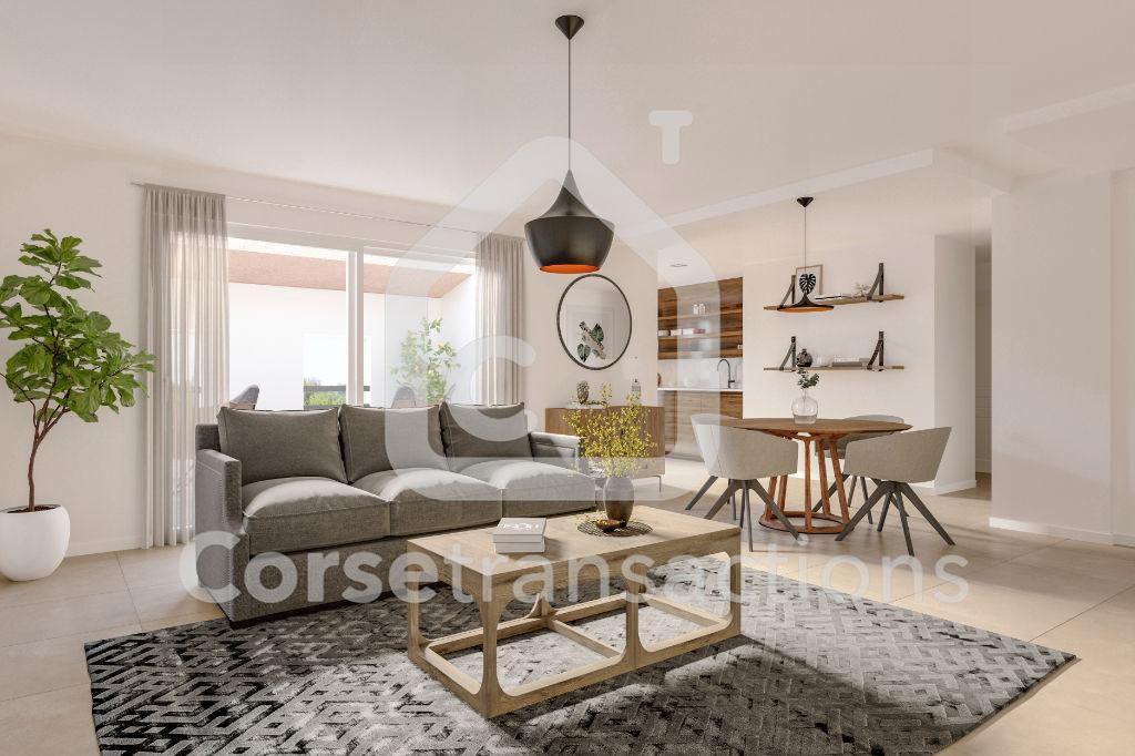 Agence immobilière Ajaccio CORSE TRANSACTIONS  Appartement T4  triangle d'or Ajaccio