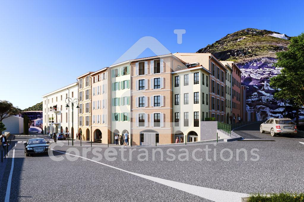 Agence immobilière Ajaccio CORSE TRANSACTIONS  T2 de standing Bonifacio