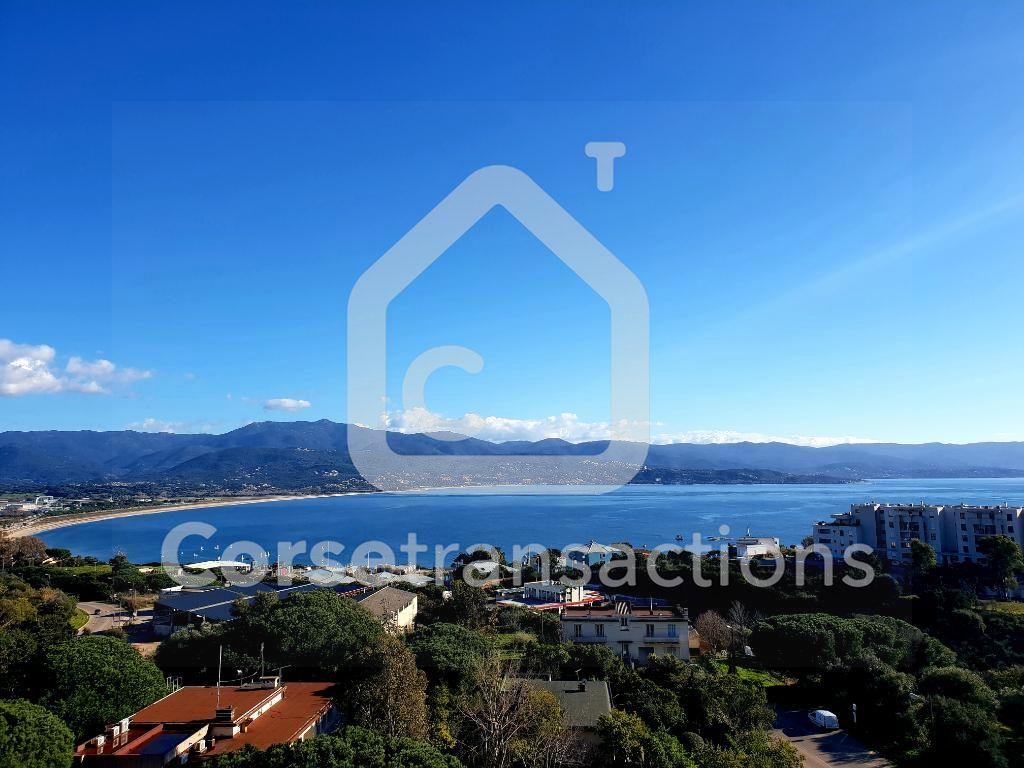 Agence immobilière Ajaccio CORSE TRANSACTIONS  Appartement T2 avec jardin Ajaccio