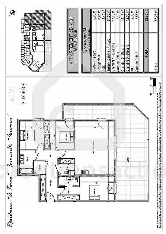 Agence immobilière Ajaccio CORSE TRANSACTIONS  Appartement T4 Ajaccio