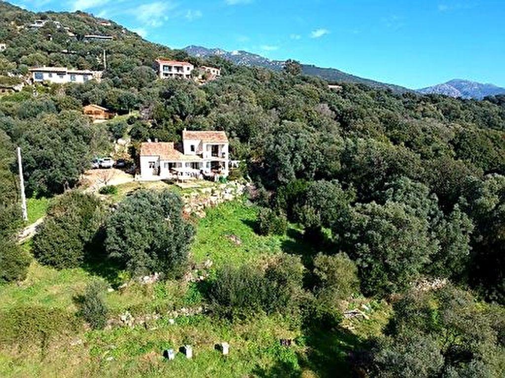 Agence immobilière Ajaccio CORSE TRANSACTIONS  Villa T5 177 m2 Olmeto vue mer