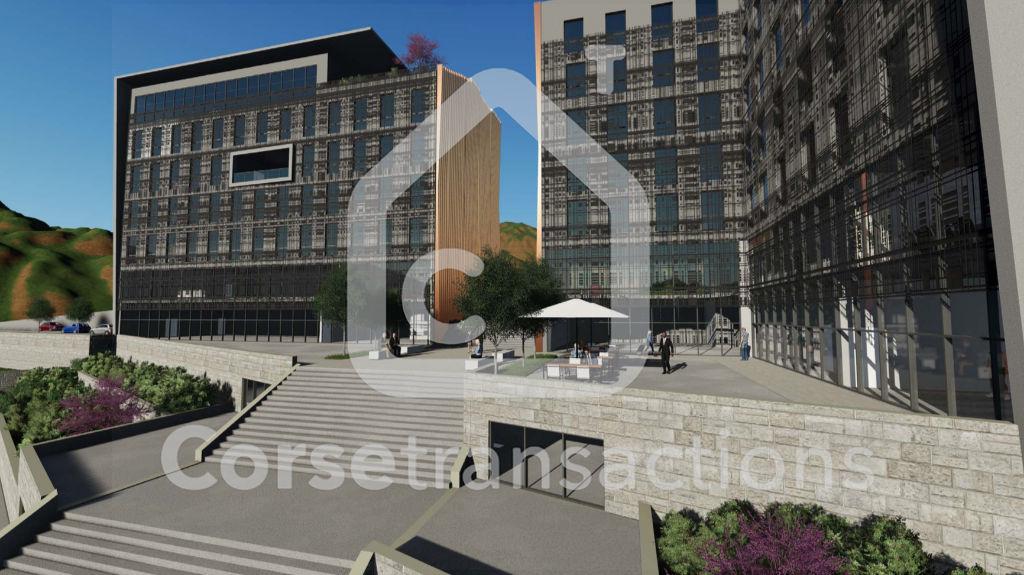Agence immobilière Ajaccio CORSE TRANSACTIONS  Locaux commerciaux 142 m2 Aspretto