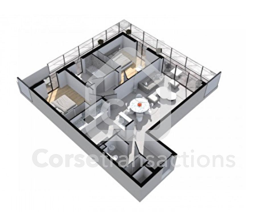 Agence immobilière Ajaccio CORSE TRANSACTIONS  Appartement Porto Vecchio 3 pièce(s) 87 m2