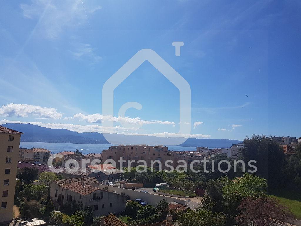 Agence immobilière Ajaccio CORSE TRANSACTIONS  Appartement T3 vue mer entièrement refait à neuf