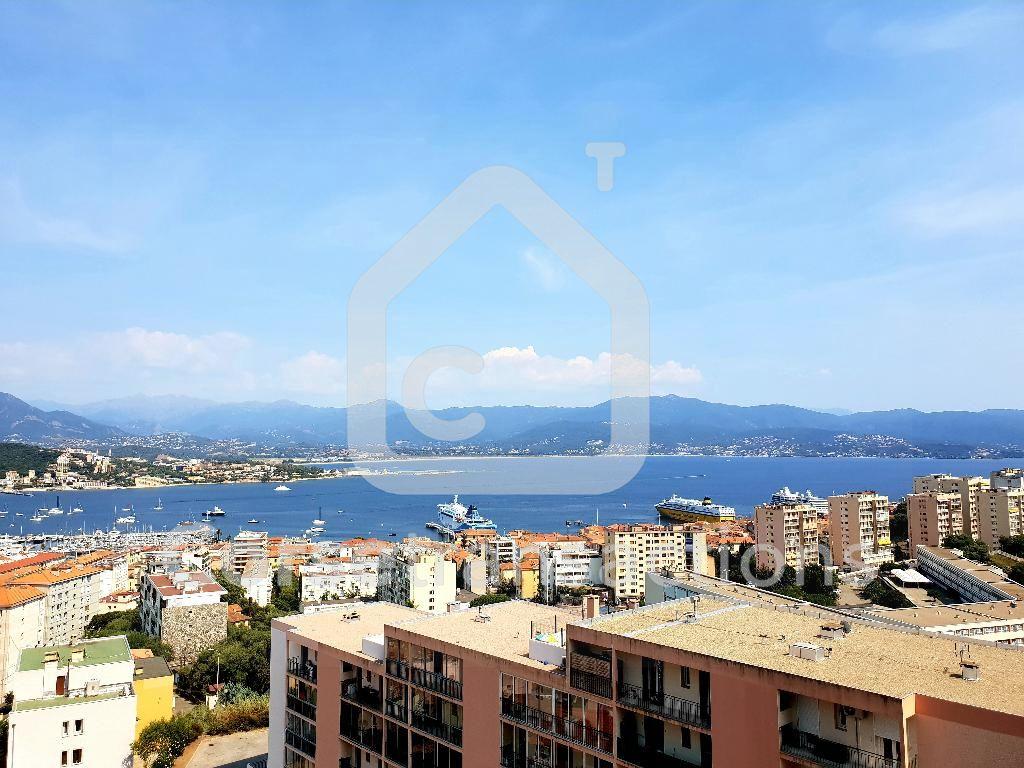 Agence immobilière Ajaccio CORSE TRANSACTIONS  Appartement Ajaccio 4 pièce(s) 80 m2 vue mer