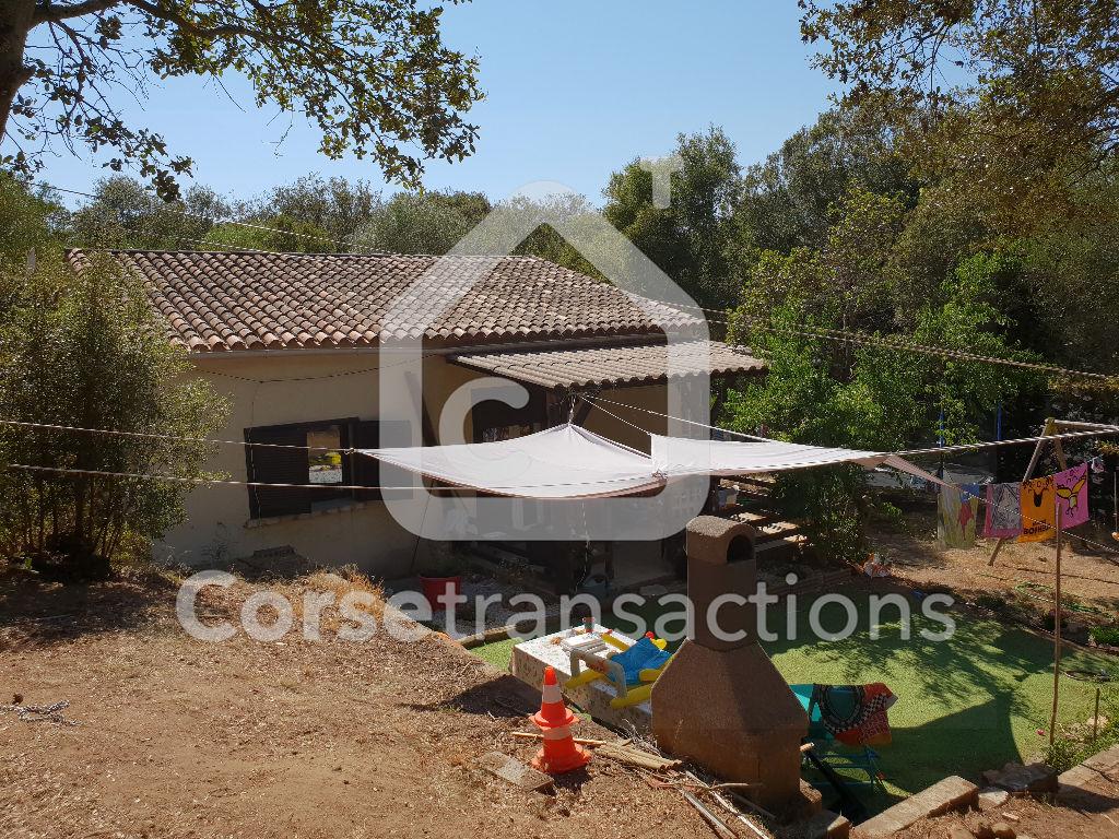 Agence immobilière Ajaccio CORSE TRANSACTIONS  Maison T4 avec dépendance