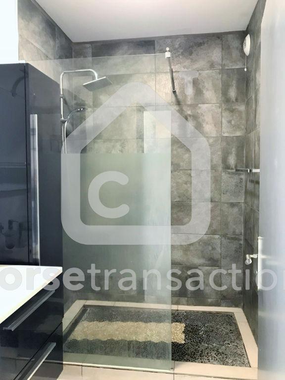 Agence immobilière Ajaccio CORSE TRANSACTIONS  T2 Sanguinaires avec terrasse et vue mer 52 m2