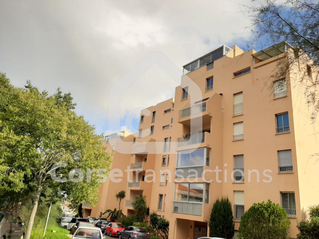 Agence immobilière Ajaccio CORSE TRANSACTIONS  Appartement T1/2 dans résidence sécurisée