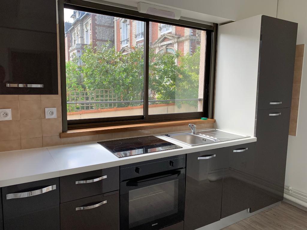 photo de Appartement Rouen 2 pièce(s) 49 m2 - quartier Gare de Rouen