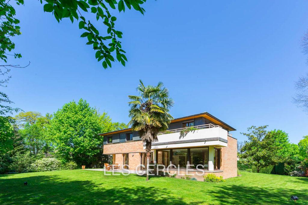 Agence les Cercles - Le Vésinet -  Maison d'architecte 10 pièces de 260 m²