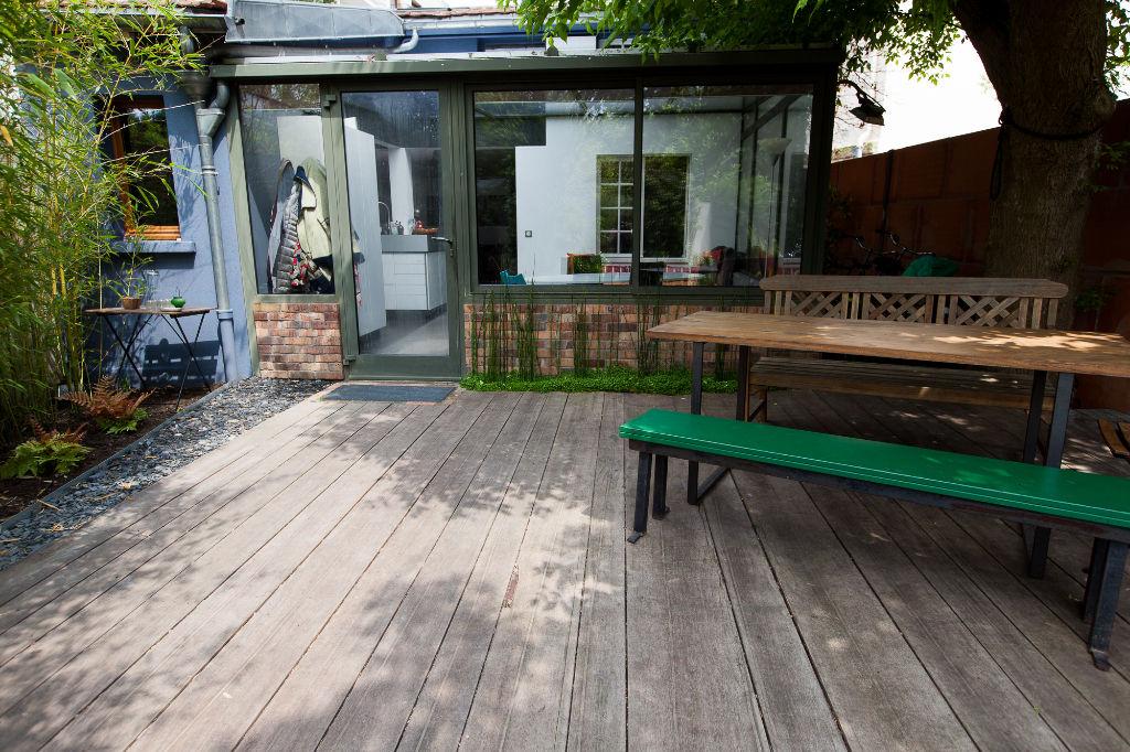 Agence les Cercles - Le Vésinet -  Maison 4/5 pièces de 75 m²