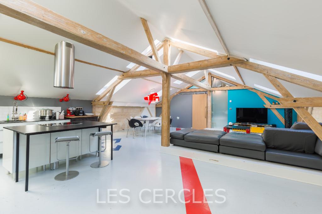 Agence les Cercles - Le Vésinet -  Loft 7 pièces de 200 m²