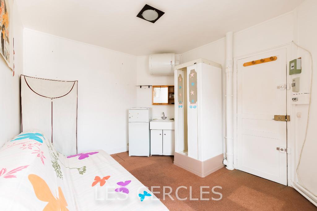 Agence les Cercles - Le Vésinet -  Appartement 1 pièce de 12 m²