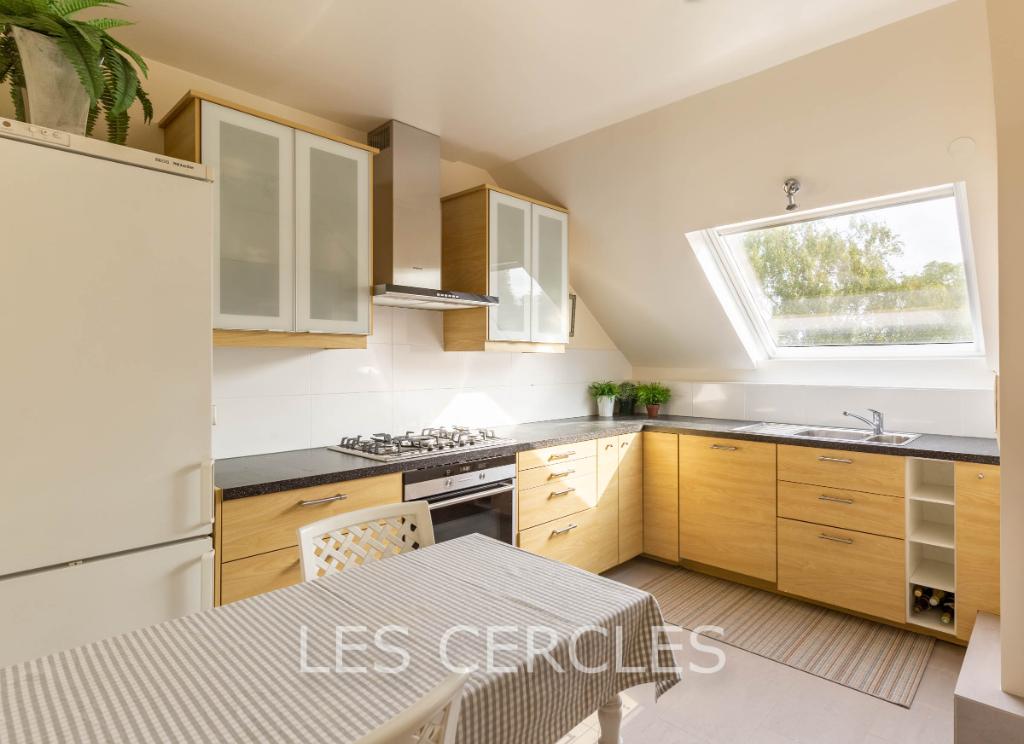 Agence les Cercles - Le Vésinet -  Appartement  3 pièces de 105 m²