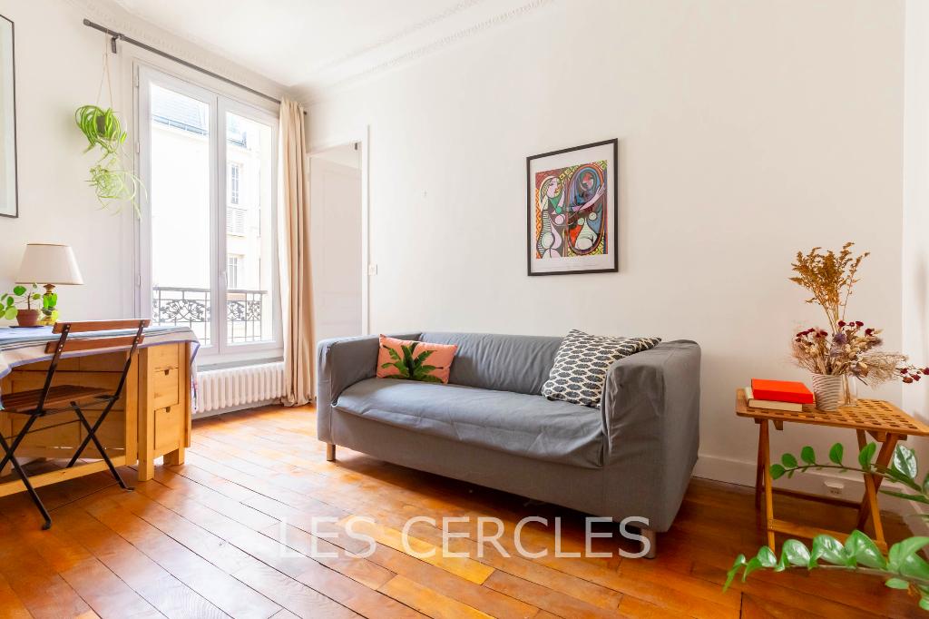 Agence immobilière Le Vésinet - Appartement 2 pièces de 19 m² - PARIS