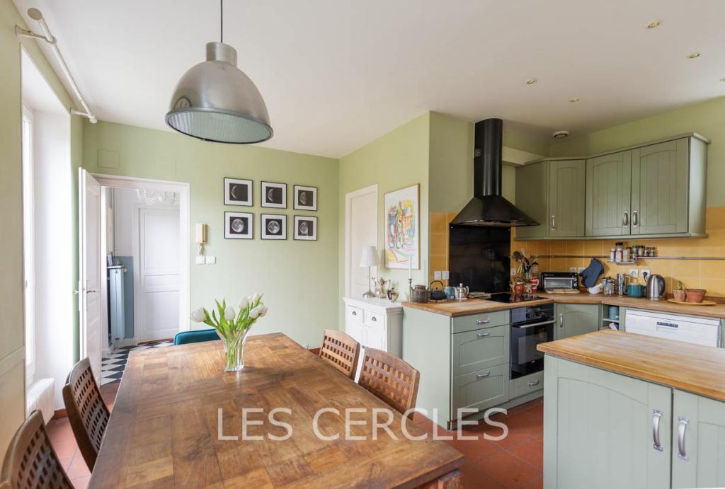 Agence les Cercles - Le Vésinet -  Maison 6 pièces de 161 m²