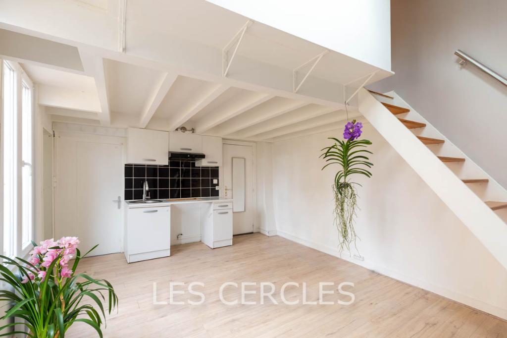 Agence immobilière Le Vésinet - Duplex 2 pièces de 33 m² - BAGNOLET
