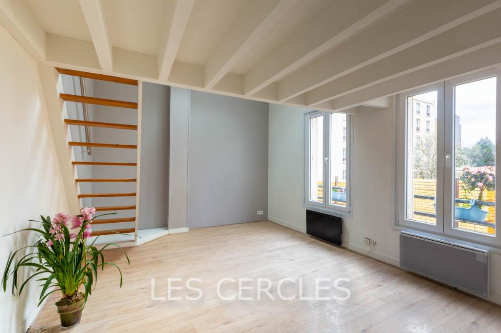 Agence les Cercles - Le Vésinet -  Duplex 2 pièces de 33 m²