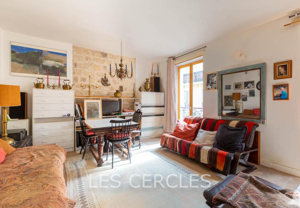 Agence immobilière Le Vésinet - Appartement 2 pièces de 36 m² en viager - PARIS