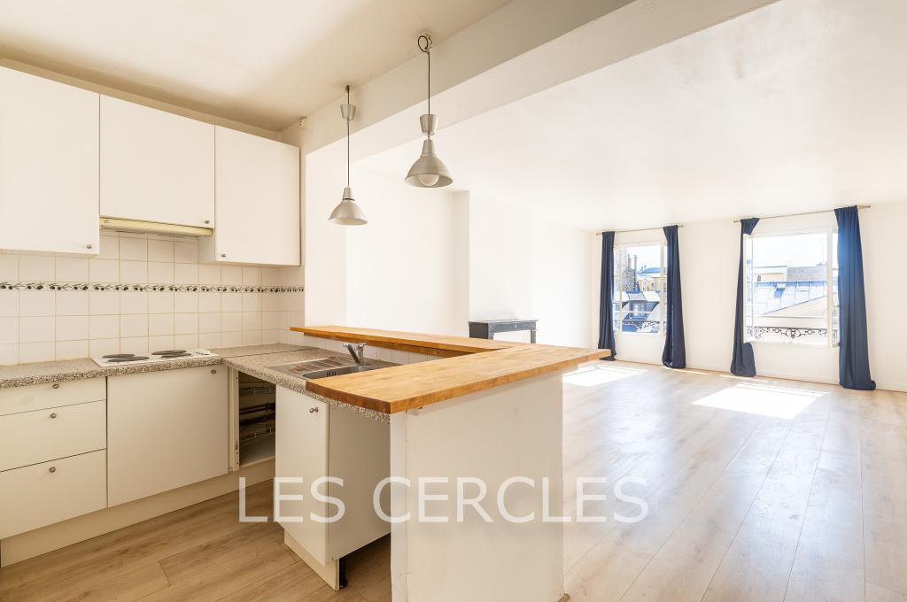 Agence les Cercles - Le Vésinet -  Appartement 2 pièces de 54 m²
