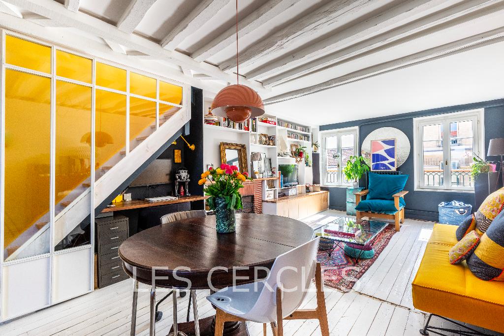 Agence immobilière Le Vésinet - Duplex 3 pièces de 67 m² - SAINT GERMAIN EN LAYE
