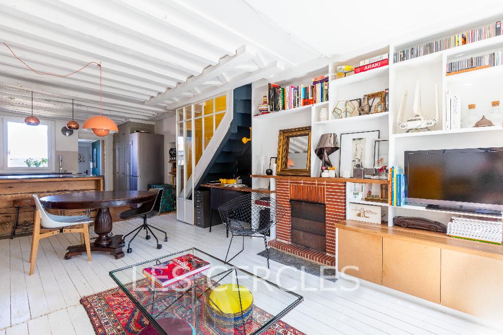 Agence les Cercles - Le Vésinet -  Duplex 3 pièces de 67 m²