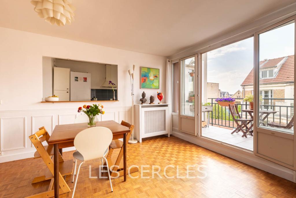 Agence immobilière Le Vésinet - Appartement  4 pièces 78 m² - SAINT GERMAIN EN LAYE