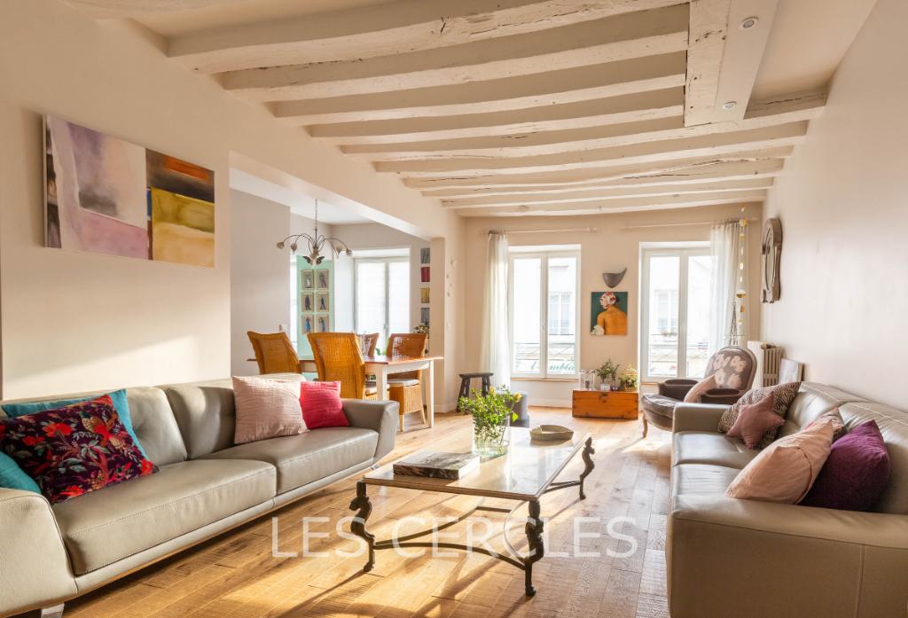 Agence immobilière Le Vésinet - Appartement 7 pièces  de 160 m² - SAINT GERMAIN EN LAYE