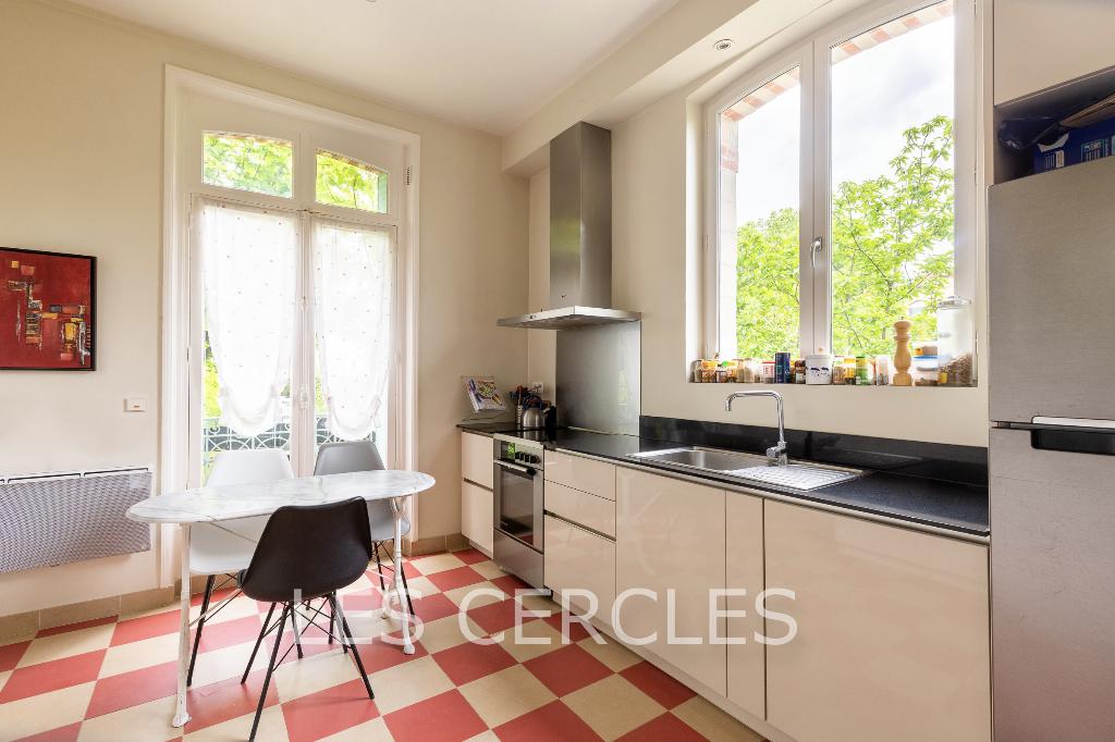 Agence les Cercles - Le Vésinet -  Maison 6 pièces de 160 m²