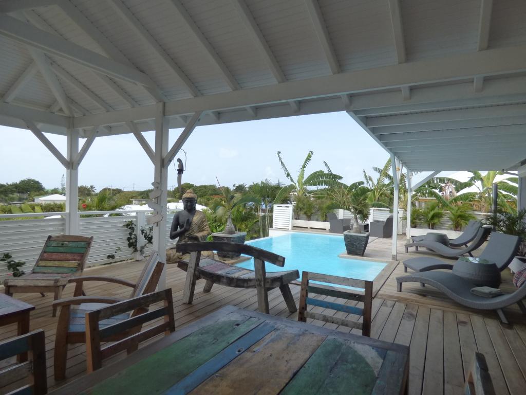 Vente maison / villa Saint francois 598000€ - Photo 2