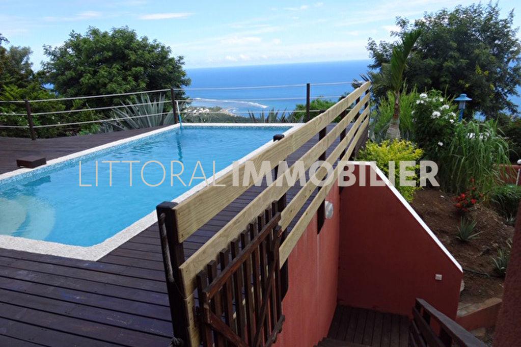 Sale house / villa Les avirons 488250€ - Picture 1