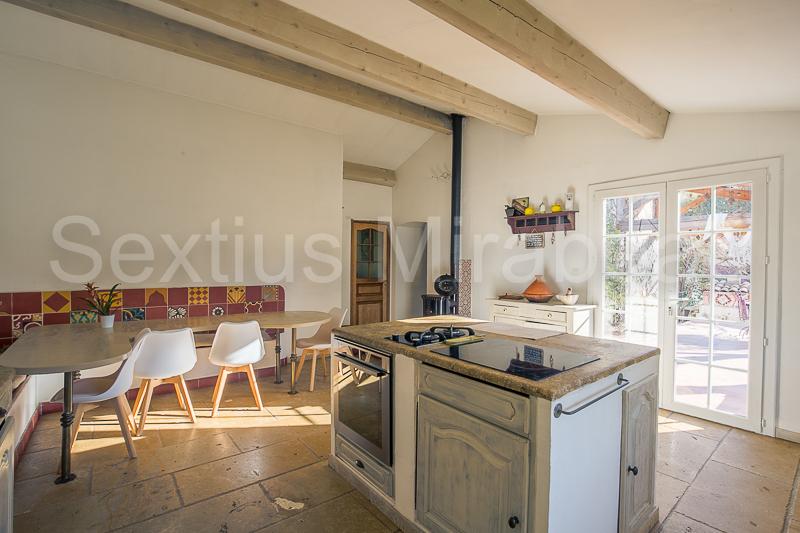 Vente maison / villa Mimet 630000€ - Photo 4