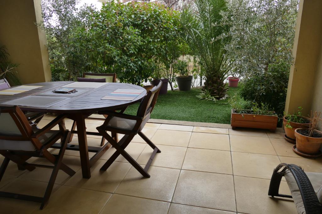 Appartement Aix En Provence 3 pièce(s) 63 m2avec jardin et terra