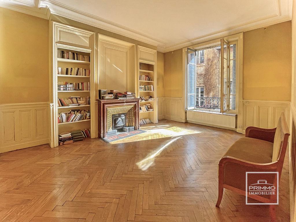 LYON 6 ème - Appartement 5 pièces  137.77 m²