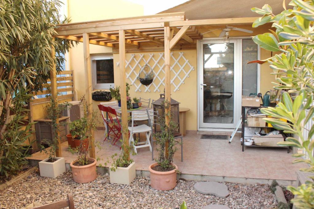 PHOTO1 - Vente appartement 2 pièces à Marseillan avec joli jardin