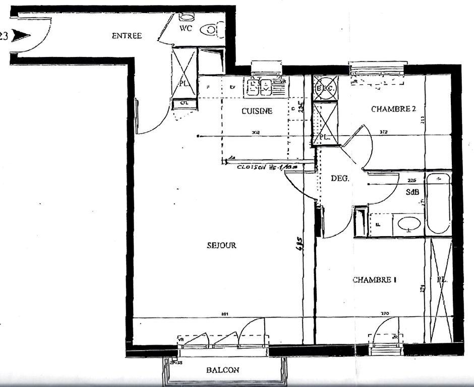 Vente appartement Clichy 519000€ - Photo 9