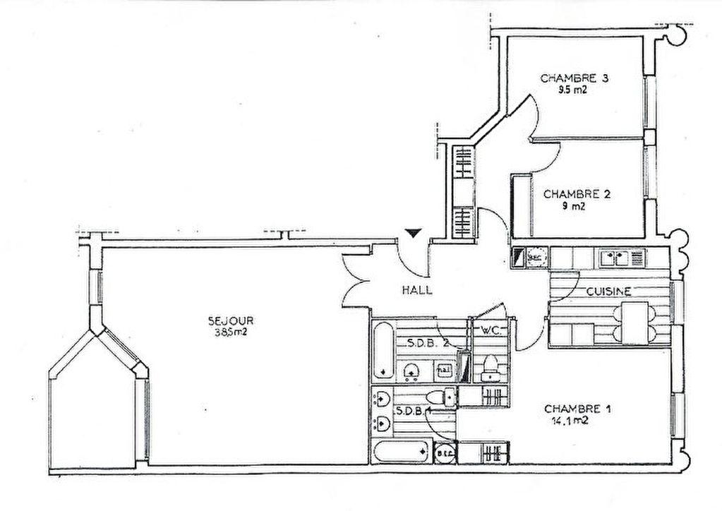Sale apartment Levallois perret 1178000€ - Picture 3