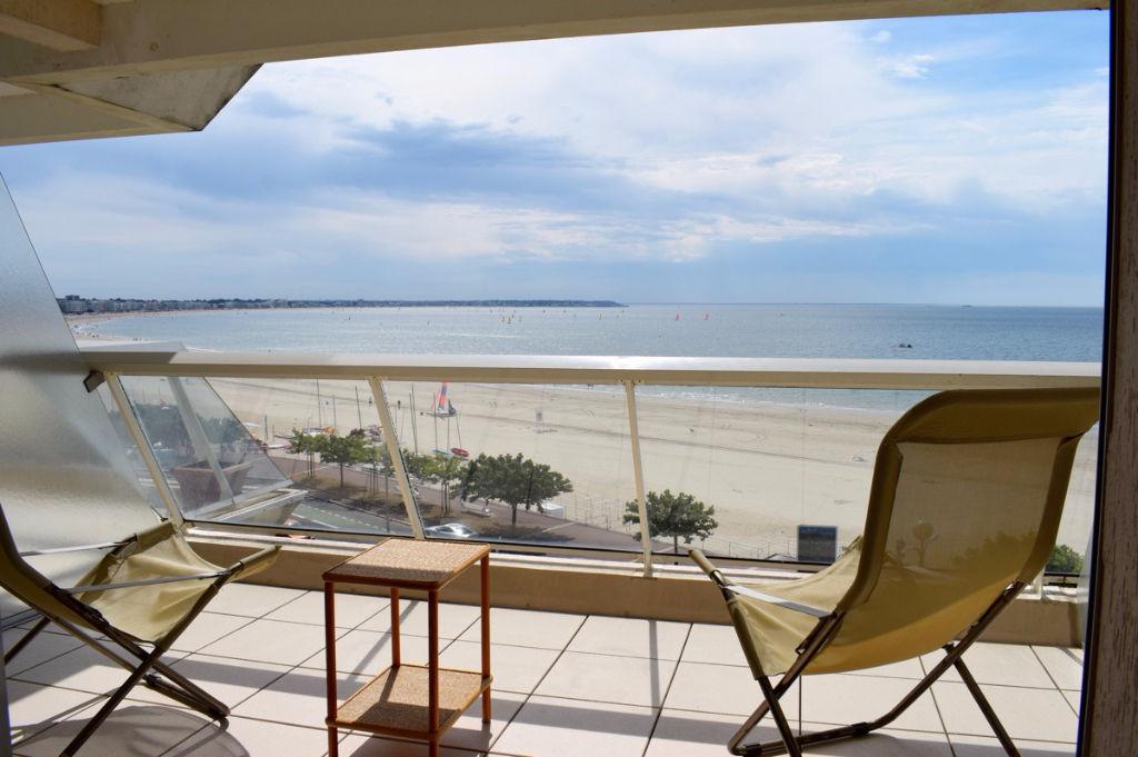<br /> À vendre Appartement de type 2 bis face mer, quartier du Casino à La Baule<br />