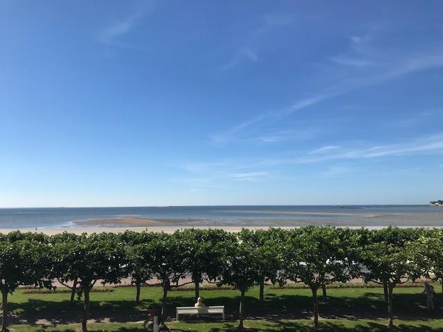À vendre 1 pièce Cabine, Face mer, accès direct plage Benoit, proche Grands Hôtels et Casino, calme