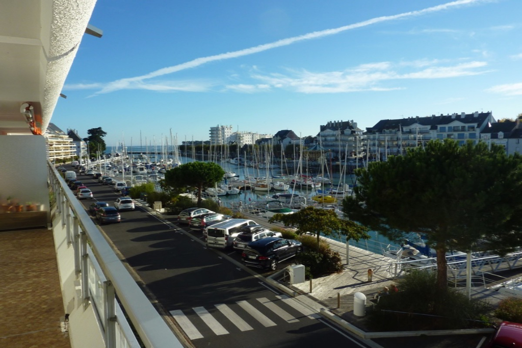 À vendre 4 pièces bis face au port proche plage Benoit et centre ville du Pouliguen, résidentiel