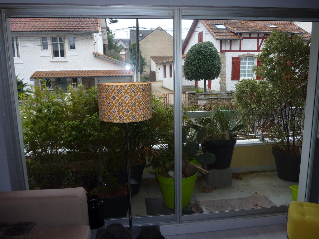 À vendre 1 pièce sur La Baule Centre ville au calme proche poste, gare, marché et avenue de Gaulle