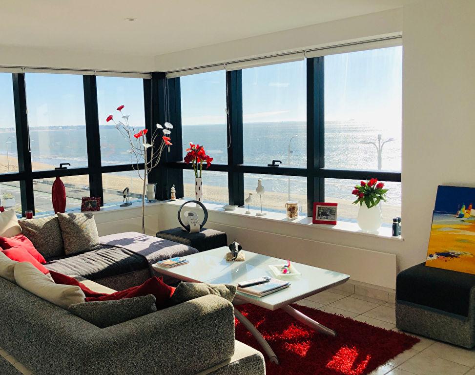 À vendre à La Baule, bel appartement Face Mer Quartier De Gaulle