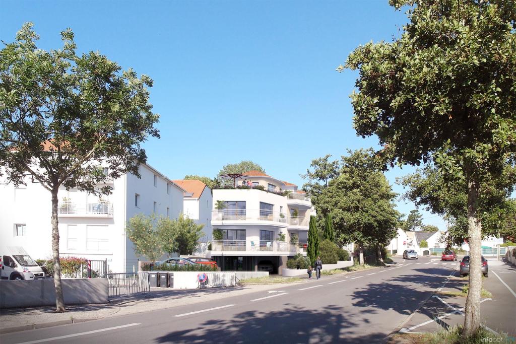 À vendre appartement T3 de 60,52 m2 proche du centre ville de Pornichet