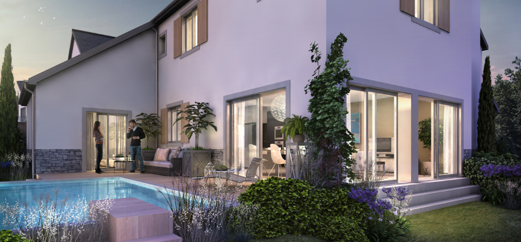 À vendre maison neuve proche du centre ville d'Escoublac, calme et résidentiel