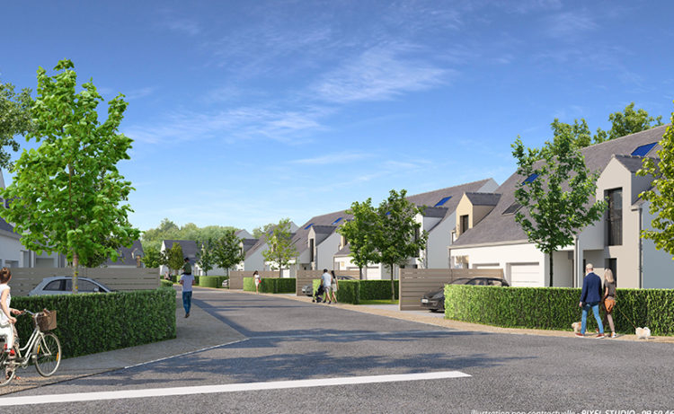 A vendre Maison T4 Duplex de 84,25 m2 - Programme Neuf à Pornichet sur parcelle de 231 m2
